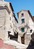 Norma medieval town in Italy Stock Image