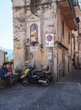 Norma medieval town in Italy Royalty Free Stock Images