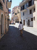 Norma medieval town in Italy Stock Photos