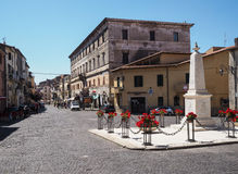 Norma medieval town in Italy Stock Images