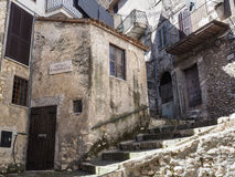 Norma medieval town in Italy Stock Photography