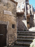 Norma medieval town in Italy Royalty Free Stock Photo