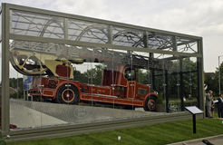 Norma pożarniczy silnik Zdjęcie Royalty Free
