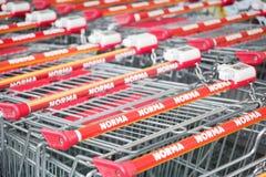 Norma shopping carts Stock Photography