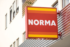 Norma sign Royalty Free Stock Images