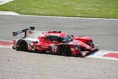 Norma Sports Prototype in actie stock afbeelding
