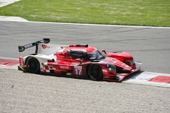 Norma Sports Prototype dans l'action Image stock