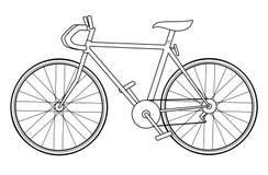 normal cykel vektor illustrationer