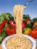 normal spagetti Arkivbilder