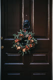normala använde linjära dörrlutningar för jul a4 ingen proportionsstordia kranen Arkivbild