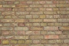 Normale Backsteinmauer Lizenzfreie Stockbilder