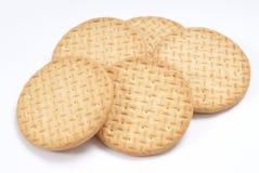 Normale Biskuite lizenzfreies stockbild