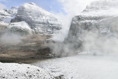 Normale dei sei parchi nazionali di Banff dei ghiacciai Fotografia Stock Libera da Diritti