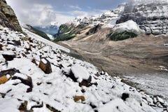 Normale dei sei parchi nazionali di Banff dei ghiacciai Fotografie Stock Libere da Diritti