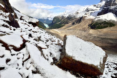 Normale dei sei parchi nazionali di Banff dei ghiacciai Immagine Stock Libera da Diritti