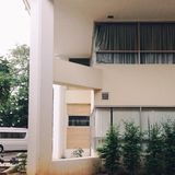 Normales Gebäude Stockfotografie