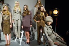 Norman Ambrose Collection Fall 2011 NYC Stock Photo
