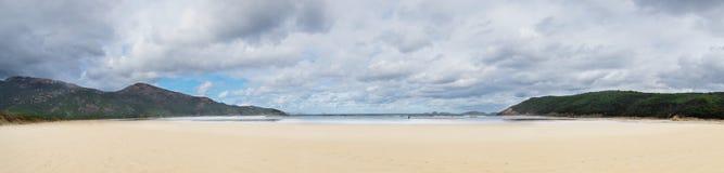 Norman Bay en parc national de promontoire de Wilsons Photographie stock