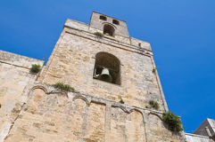 Norman belltower. Otranto. Puglia. Italy. Stock Photos