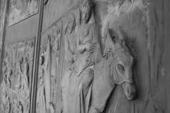 Norman bizantinearchitectuur Royalty-vrije Stock Afbeelding