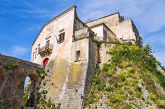 Norman Castle of Ginosa. Puglia. Italy. Royalty Free Stock Photography