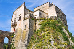 Norman Castle of Ginosa. Puglia. Italy. Stock Photos