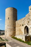 Norman castle of Salemi Stock Photo