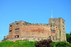 Norman castle, Tamworth. Royalty Free Stock Photography