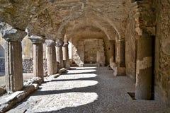 Norman cloister - Lipari Royalty Free Stock Image