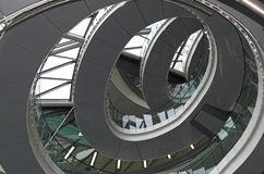 Norman Foster's City Hall in London. The inside of Norman Foster's City Hall in London Royalty Free Stock Photography