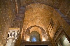 norman gammalt för slott torn scily Royaltyfri Bild