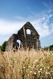 Norman House, Christchurch. Dorset, ruins Stock Images