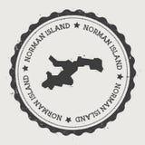 Norman Island-Aufkleber Stockfoto