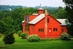 Norman Rockwell`s studio. Artist Norman Rockwell`s Studio nestled in the Berkshire Mountains of Massachusetts Stock Images