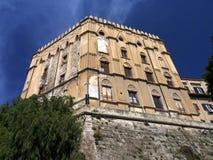 Palazzo Dei Normanni Stock Image