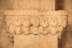 Norman Swabian Castle _ Apulia eller Puglia italy arkivbild