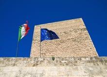 The Norman-Swabian Castle of Bari. Apulia. stock image