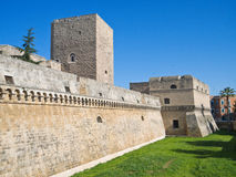 The Norman-Swabian Castle of Bari. Apulia. Royalty Free Stock Image