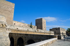 Norman- Swabian Castle. Bari. Apulia. Royalty Free Stock Photo