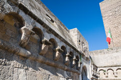Norman- Swabian Castle. Bari. Apulia. Stock Photography