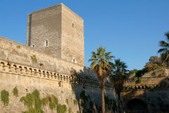 Norman-Swabian castle of Bari, Apulia Royalty Free Stock Photography