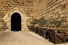 Norman Swabian Castle bari Apulien oder Puglia Italien stockbild