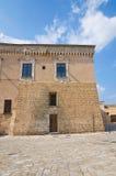 Norman-Swabian Castle. Mesagne. Puglia. Italy. Royalty Free Stock Photos