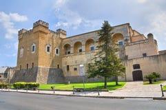 Norman-Swabian Castle. Mesagne. Puglia. Italy. Stock Photo