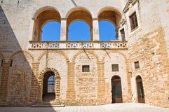 Norman-Swabian Castle. Mesagne. Puglia. Italy. Stock Image