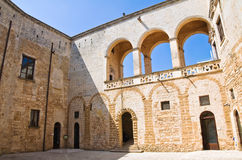 Norman-Swabian Castle. Mesagne. Puglia. Italy. Royalty Free Stock Photo