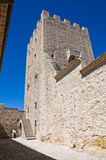 Norman tower. Pietramontecorvino. Puglia. Italy. Royalty Free Stock Photography