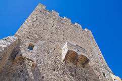 Norman tower. Pietramontecorvino. Puglia. Italy. Royalty Free Stock Image