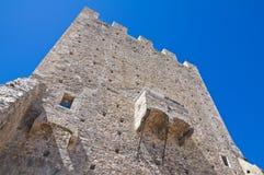 Norman tower. Pietramontecorvino. Puglia. Italy. Royalty Free Stock Image