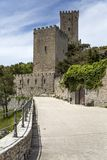 Norman Venus castle at Erice, Sicily Royalty Free Stock Image